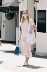 ELLE FANNING Out Shopping in Los Angeles 09/18/2020