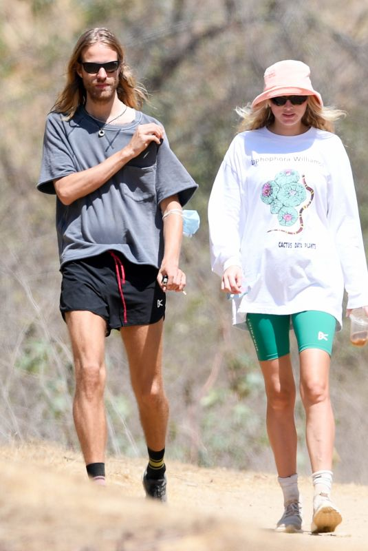 ELSA HOSK and Tom Daly Out Hiking in Los Angeles 08/31/2020