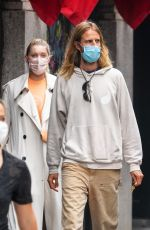 ELSA HOSK and Tom Daly Out in New York 09/17/2020
