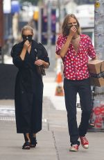 ELSA HOSK and Tom Daly Out in New York 09/28/2020
