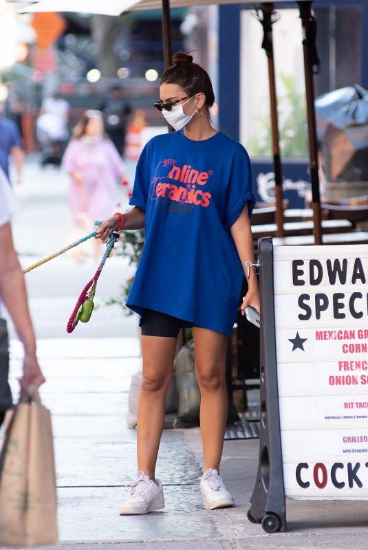 EMILY RATAJKOWSKI Out in New York 09/09/2020