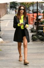 EMILY RATAJKOWSKI Out with Colombo in New York 09/11/2020