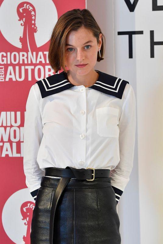 EMMA CORRIN at Hotel Excelsior at 2020 Venice Film Festival 09/07/2020