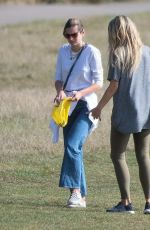 EMMA CORRIN Out and About in Hampstead 09/22/2020