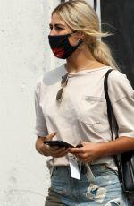 EMMA SLATER Arrives at DWTS Studio in Los Angeles 09/15/2020