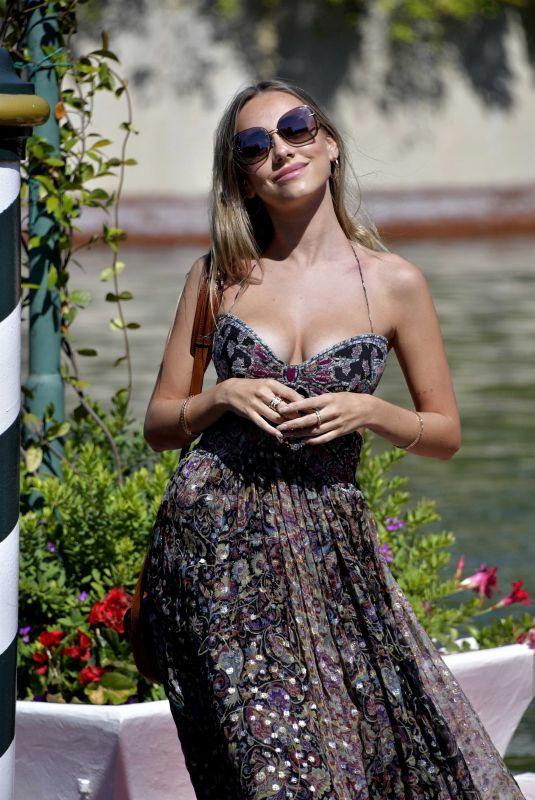 ESTER EXPOSITO Arrives at Lido in Venice 09/02/2020