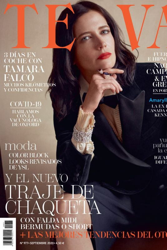 EVA GREEN in Telva Magazine, September 2020