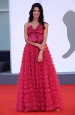 FOTINI PELUSO at The World to Come Premiere at 2020 Venice Film Festival 09/06/2020
