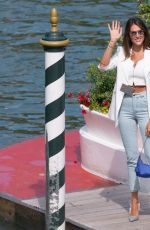 FRANCESCA SOFIA NOVELLO Arrives at Hotel Excelsior in Venice 09/03/2020