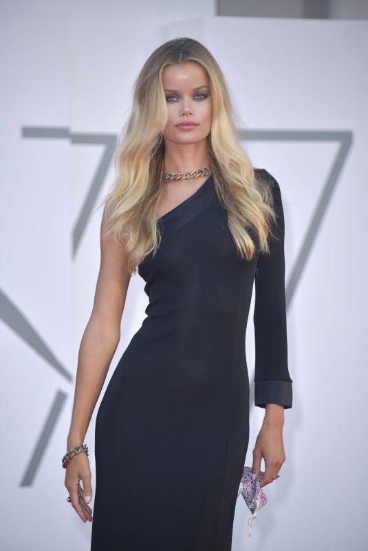 FRIDA AASEN at Miss Marx Premiere at 2020 Venice Film Festival 09/05/2020
