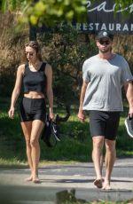 GABRIELLA BROOKS and Liam Hemsworth Out Hiking at Byron Bay 08/31/2020