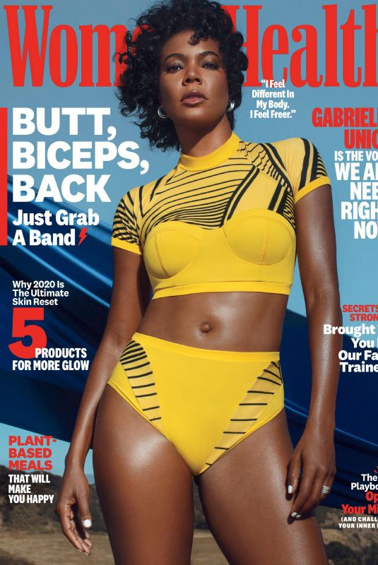 GABRIELLE UNION in Women's Health Magazine, October 2020