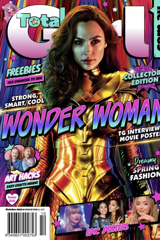 GAL GADOT in Total Girl Magazine, October 2020