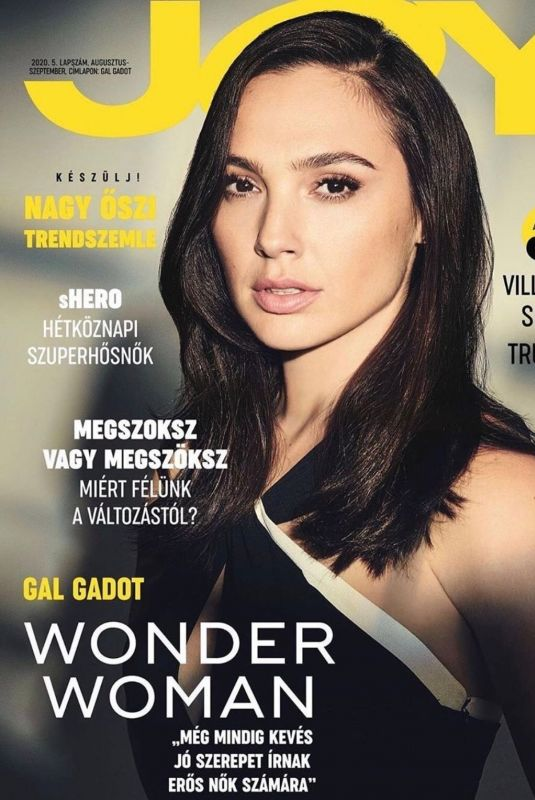 GAL GADOT on the Cover of Joy Magazine, Hungary August/September 2020