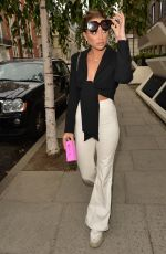 GEORGIA HARRISON at Langham Hotel in London 09/28/2020