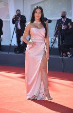 GEORGINA RODRIGUEZ at The Human Voice Premiere at 77th Venice International Film Festival 09/03/2020