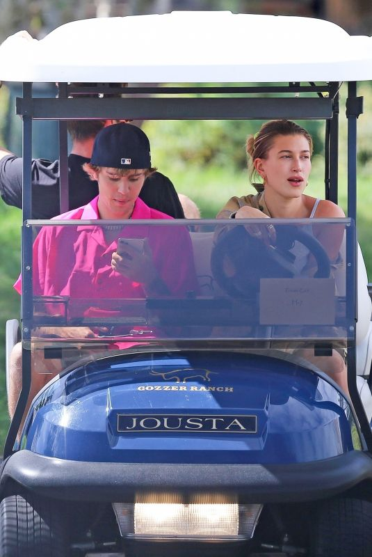 HAILEY and Justin BIEBER and KENDALL JENNER Out in Idaho 09/01/2020