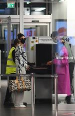 HAILEY BIEBER and KENDALL JENNR Arrives at Airport in Milan 09/27/2020