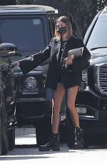 HAILEY BIEBER Out in Los Angeles 09/22/2020