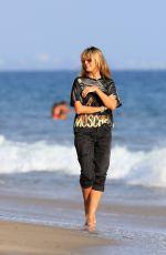 HEIDI KLUM Out on the Beach in Malibu 09/27/2020