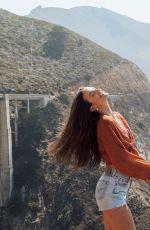 HELEN OWEN in Denim Shorts - Instagram Photos 09/22/2020