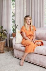 HILARY DUFF in Architectural Digest Magazine, September 2020