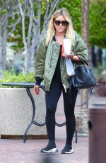 HILARY DUFF Out for Coffee in Los Angeles 09/07/2020