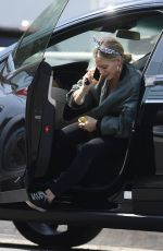 HILARY DUFF Out in Los Angeles 09/26/2020