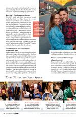 HILARY SWANK in People Magazine, September 2020