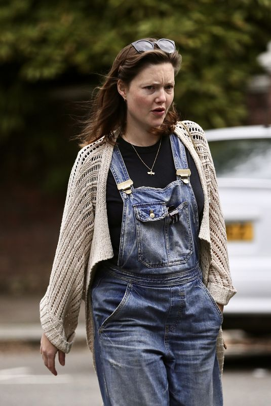 HOLLIDAY GRAINGER Out in London 08/27/2020
