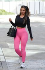 HOLLY HAGAN in Tights at a Fitness Class in Manchester 09/26/2020