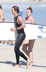 IRELAND BALDWIN in Swimsuit at a Beach in Malibu 08/30/2020