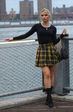 IRINA BAEVA at a Photoshoot at Dumbo Area in Brooklyn 09/29/2020