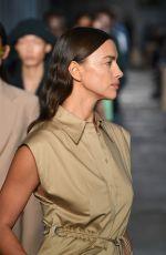 IRINA SHAYK at Hugo Boss Runway Show at Milan Fashion Week 09/23/2020