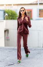 IRINA SHAYK Out and About in Milan 09/23/2020