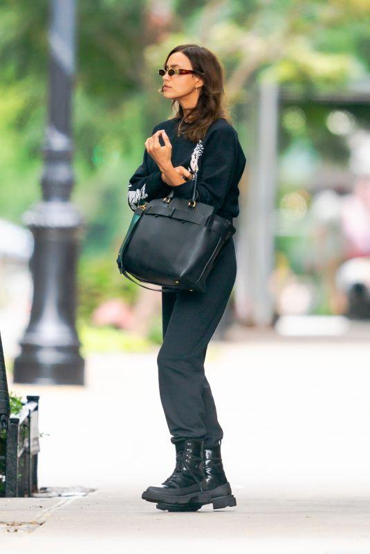 IRINA SHAYK Out in New York 09/11/2020