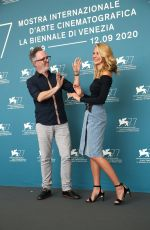 ISABEL MAY at Run. Hide. Fight Photocall at 77th Venice Film Festival 09/10/2020