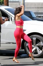 JEANNIE MAI in Tifghts Leaves DWTS Sstudio in Los Angeles 09/19/2020