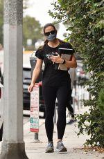JENNIFER GARNER Leaves a Gym in Brentwood 09/10/2020
