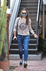 JENNIFER GARNER Out and About in Brentwood 09/17/2020
