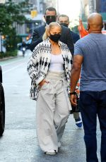 JENNIFER LOPEZ and Alex Rodriguez Out in New York 09/08/2020