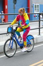 JENNIFER LOPEZ Oot for a Bike Ride in New York 09/07/2020