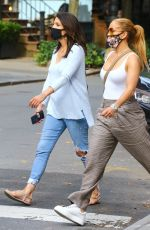 JENNIFER LOPEZ Out for Lunch with Her Sister in New York 09/07/2020