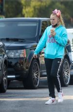 JOJO SIWA Out for Iced Coffee in Los Angeles 09/26/2020