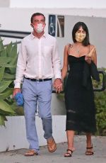 JORDANA BREWSTER and Andrew Form Out for Dinner in Santa Monica 09/19/2020