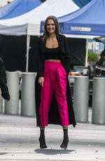 JOSEPHINE SKRIVE on the Set of Maybelline Commercial in New York 09/15/2020