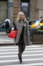 JULIA GARNER on the Set of Inventing Anna in New York 09/29/2020