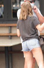 JULIANNE HOUGH in Denim Shorts Out in Los Angeles 09/12/2020