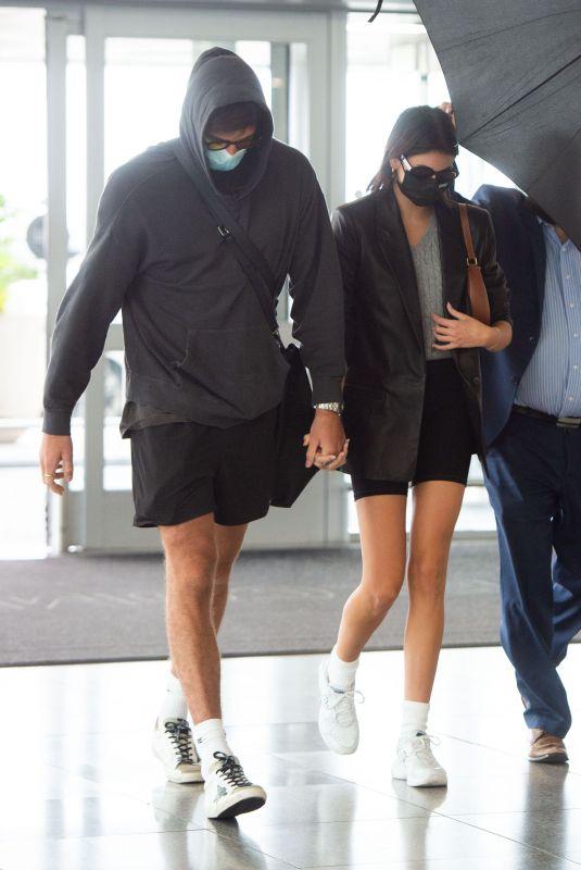 KAIA GERBER and Jacob Eldori at JFK Airport in New York 09/13/2020