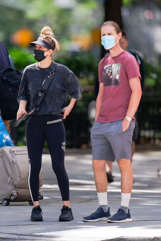 KALEY CUOCO Out and About in New York 09/12/2020